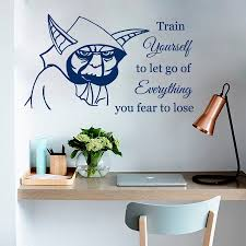 Star Wars Home Decorations by Online Get Cheap Star Wars Decals Jedi Master Aliexpress Com