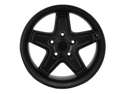 black and jeep rims jeep wrangler wheel 17 black 5 spoke part no p5156179ab