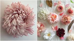 these incredibly realistic flowers are actually made of paper
