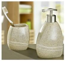 rust river stone granite bathroom accessories free style shaped
