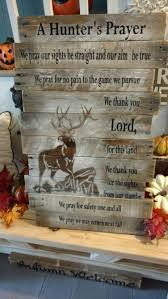 hunter u0027s prayer reclaimed wood pallet wood christmas deer