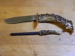 homemade kitchen knives flint u0026 steel custom knife making kit walnut amazon com