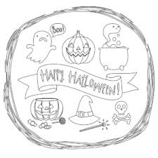 free halloween coloring