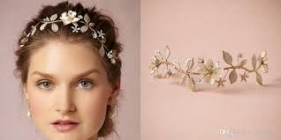 prom hair accessories 2015 beaded flower bridal hair accessories handmade plant shaped