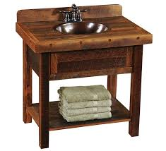 Wood Bathroom Vanities Cabinets by Vanities Barn Wood Vanity Top Barn Wood Vanity Reclaimed Wood