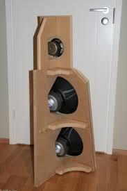 Speaker Design by A Dipole Speaker With Single Jordan Jx92 And Two Peerless Sls 12