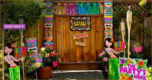 luau decorations luau party supplies hawaiian luau decorations party city hawaiian