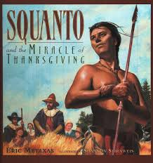 book review squanto and the miracle of thanksgiving in his grip