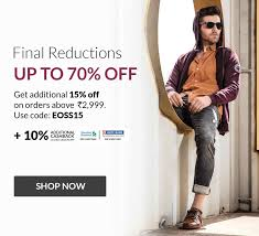buy men branded casual u0026 formal clothes online in india