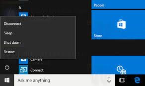 Resume From Hibernation Add Hibernate To The Start Menu In Windows 10 Winaero