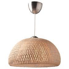 Bamboo Ceiling Light Böja Pendant L Ikea