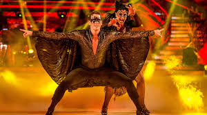 halloween dance background bbc one strictly come dancing brendan cole