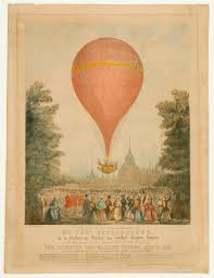 vauxhall gardens london the first ascent unaccompanied of mr chas paternoster in his