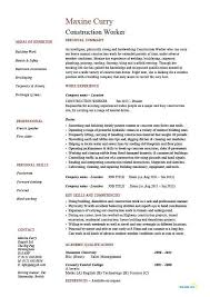 Plumbing Resume Examples by 100 Carpentry Resume Unforgettable Maintenance Technician