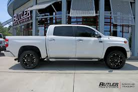 toyota tundra with 22in fuel hostage wheels exclusively from