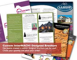 Brochures And Business Cards New Brochure And Business Card For A Critical Eye Inspection