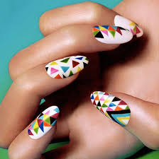 40 geometric nail designs you u0027ll want to try immediately style