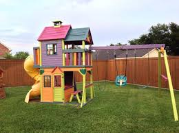 Best Backyard Play Structures 15 Best Swingset Makeover Images On Pinterest Backyard Ideas