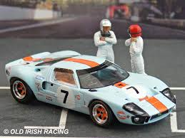 gulf gt40 ford gt40 u0026 mkiv old irish racing model collection