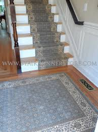 Feizy Rugs Architecture Decorative Stair Runners With Wood Stair Railing And