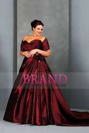 plus size burgundy bridesmaid dresses plus size wedding dresses a line sweetheart court burgundy