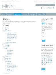 simple sitemap u2013 automatically generate a responsive sitemap