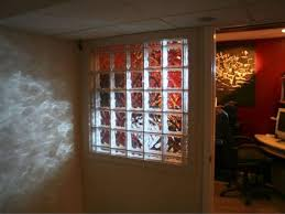 interior glass walls for homes how to install a glass block wall hgtv