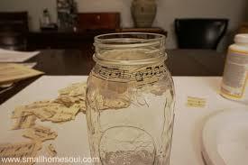 Mason Jar Vases Easy Diy Sheet Music Mason Jar Vases Small Home Soul