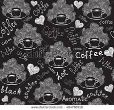 vector coffee cup coffee lines stock vector 222157468