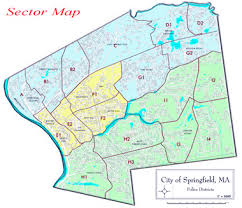 springfield map dept springfield mass community policing