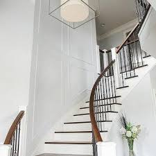 Entry Stairs Design Iron And Wood Staircase Design Ideas