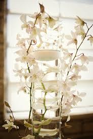 orchid centerpiece white orchid centerpiece wedding reception flowers decor