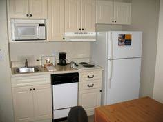 Efficiency Apartment Ideas Chic Compact Kitchen For A Small Space A Great Idea For A Studio