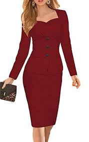 robe bureau smile ykk robe bureau femme coton manche longue col v cérémonie