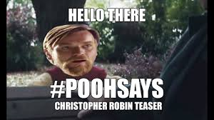 Christopher Meme - poohsays christopher robin teaser memes pooh review youtube
