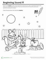 beginning sounds coloring sounds like lamp preschool phonics