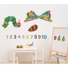 Hungry Caterpillar Nursery Decor The Hungry Caterpillar Room Decor Kit Licence Wall Sticker