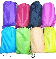100pcs fast inflatable camping sofa banana sleeping bag hangout