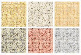neutral colours seamless mosaic tile pattern in neutral colours royalty free