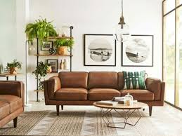 modern living room ideas with brown leather sofa 6 minimalist mid century modern living rooms be inspired