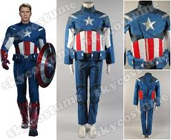 vire costume the new captain america costume set jacket