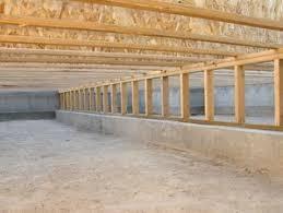 Repair Floor Joist Crawl Space Encapulation U0026 Vapor Barriers In Long Island