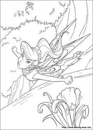 coloring tinkerbell tinkerbell coloring pages