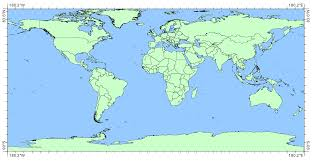World Map With Longitude And Latitude Degrees by Canadians Don U0027t Live As Far North As You Think U2013 Whitebox