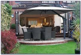 Large Cantilever Patio Umbrella Large Cantilever Patio Umbrellas Uk Patios Home Decorating