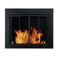 amazon com pleasant hearth at 1001 ascot fireplace glass door