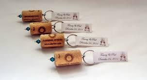 keychain favors wine cork keychain favors great wedding or bridal shower