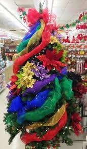 ideas and inspirations rainbow deco mesh christmas tree