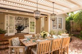 Patio Furniture Lighting Covered Patio Lighting Ideas Deck Modern With Exposed Beams Patio