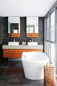 Modern Bathrooms Australia by Bathroom Dark Brown Vanity Cabinets Dark Brown Wood Mirror White